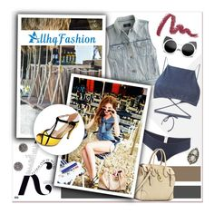 """Summer Contrasts..Allhqfashion"" by melissa-de-souza ❤ liked on Polyvore"