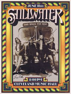 Stillwater Band Poster - from the Almost Famous Untitled Vinyl Ltd Edition