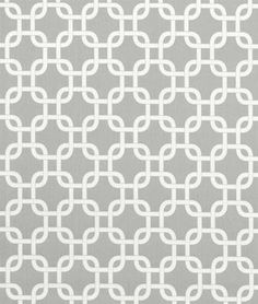 gray and white fabric.     Think I finally found an affordable winner for the shower curtain!