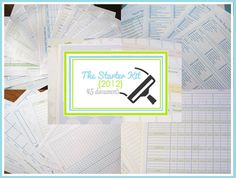 The 2012 Clean Mama Printables Starter Kit  by CleanMamaPrintables, $45.00