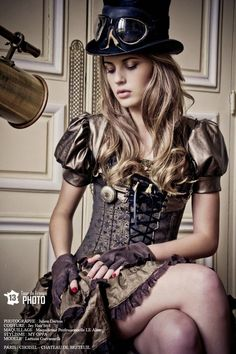 DevilInspired Steampunk Dresses: Steapunk Fashion----- Ladies steampunk outfits