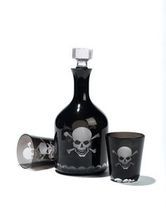 Must have this. Skull and cross bones decanter