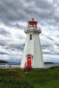 Greens Point Lighthouse - New Brunswick, Canada