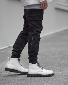 Ooosssh. The Black Zespy Militia paired with our soon to be released boot collab with LAs @broken_homme . Ps spend $250 or more in our flagship stores and get $50 off your purchase. This weekend only. #iloveugly by iloveugly