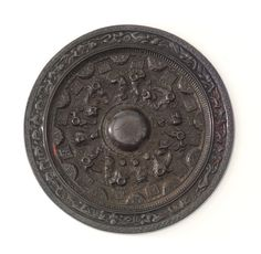 Bronze Mirror - 25-220  Eastern Han dynasty Bronze Mirror, Chinese Antiques, Chinese Art, Mirrors, Objects, Culture, China, Gallery, People