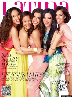 devious maids cast on the cover of Latina magazine