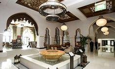 Palace Hotel in Dubai, UAE.