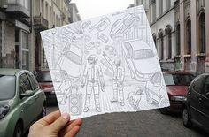 Pencil Vs Camera. New art concept by `BenHeine (deviantART).