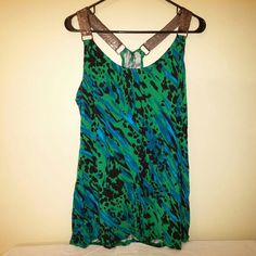 """Candie's Tank Candie's Tank Top, size XL. Like-new condition; always washed gentle cycle and hung dry. Has metal detail for shoulder straps. Racerback. Bust approximately 20"""". Candie's Tops Tank Tops"""