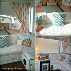 Glenda's Pop Up Camper Makeover - The Pop Up Princess
