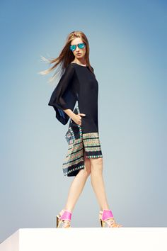 love this dress from BCBG Max Azria Resort 2013