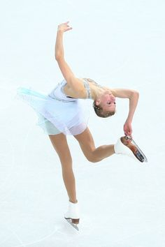 Polina Edmunds of the United States competes in the Figure Skating Ladies' Free Skating on day 13 of the Sochi 2014 Winter Olympics at Iceberg Skating Palace on February 20, 2014 in Sochi, Russia.