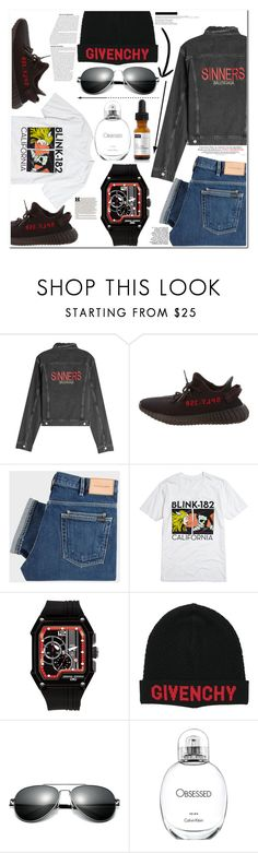 """""""Untitled #19"""" by esellevee ❤ liked on Polyvore featuring Balenciaga, Yeezy by Kanye West, PS Paul Smith, Hot Topic, Jorg Gray, Givenchy, Calvin Klein, Niod, Maison Margiela and men's fashion"""
