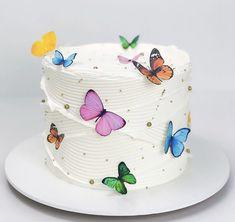 14th Birthday Cakes, Butterfly Birthday Cakes, Creative Birthday Cakes, Beautiful Birthday Cakes, Butterfly Cakes, Creative Cakes, Beautiful Cakes, Amazing Cakes, Pretty Cakes