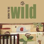 BORN TO BE WILD Kids Wall Decal-