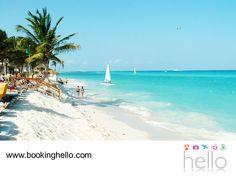 EL MEJOR ALL INCLUSIVE AL CARIBE. A 68 kilómetros de Cancún, se encuentra Playa del Carmen. Un lugar que poco a poco se convirtió en un punto importante para el turismo por su belleza natural, playas espectaculares y sitios para el entretenimiento; sin duda, un destino que debes visitar con tus amigos durante las vacaciones. En Booking Hello te invitamos a visitar www.bookinghello.com, para conocer nuestros packs al Caribe mexicano.