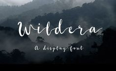 "Handwritten fonts have been BOOMING in 2016 and they all look awesome. It's my pleasure to introduce to you to ""Wildera"" – a great handwritten font created by Lauren Lee. This one it's another discovery from…"