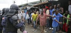 Militares disparan contra personas en cuarentena por ébola