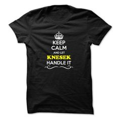 nice It's KNESEK Name T-Shirt Thing You Wouldn't Understand and Hoodie