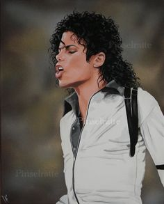 Michael Jackson - Human Nature by Pinselratte on deviantart