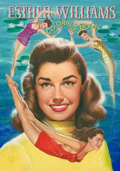 Esther Williams coloring book