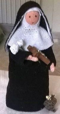 Santa Rita   corpo   UTILIZZO COTONE N°5 (X FARE PRIMA )   CERCHIO MAGICO   1)8mb chiuse in cerchio (8)   2)1 aumento in ogni maglia(16) ...