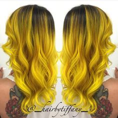yellow hair dye | Black to Yellow Hair Color - Hair Colors Ideas