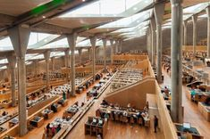 La bibliothèque d'Alexandrie, Egypte