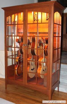 Gallery   Case Sensitive LLC Case Sensitive LLC   Hand Crafted Solid Wood Guitar  Display Case With Humidity Control   Guitar   Pinterest   Guitar Display,  ...
