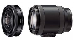 Sony has revealed a pair of new E-mount lenses which are to go on sale adding more shooting options for its NEX range of mirrorless cameras.