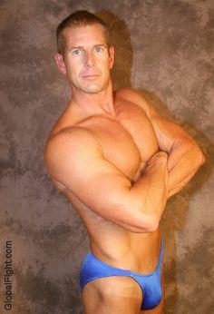 a gay wrestling muscleman wrestler