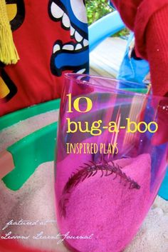 Bug inspired activities for children. Great ideas for playful learning.
