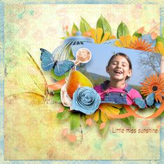 Lady sunshine by Aurélie Scrap http://scrapfromfrance.fr/shop/index.php?main_page=index&manufacturers_id=109