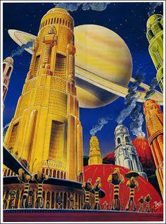 Un universo de Ciencia Ficción: 1926-FRANK R. PAUL