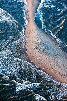 ✯ A Sandbar off the coast of South Carolina near Edisto Island