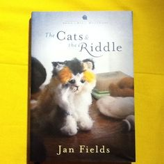 ANNIE'S ATTIC MYSTERIES THE CATS &THE RIDDLE BOOK 23 JAN FIELDS