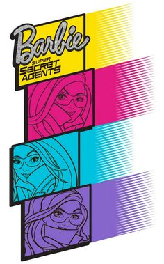The secret agents A champion gymnast Original logo Final logo Young Teresa, Barbie, and Renee.