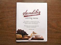 MENU DESIGN: Sendik's Catering Menu by Eric Krueger, via Behance Catering Menu, Catering Ideas, Restaurant Menu Design, Wisconsin, Behance, Graphic Design, Inspiration, Food, Restaurants