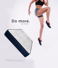 The Hero Mattress will help you to get your training to the next level , find out how www.gablez.com