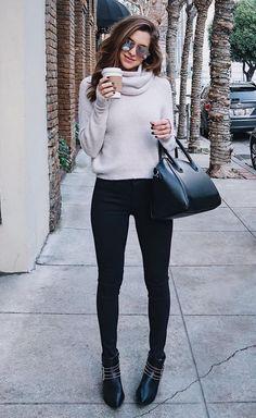 grey   black simple attire