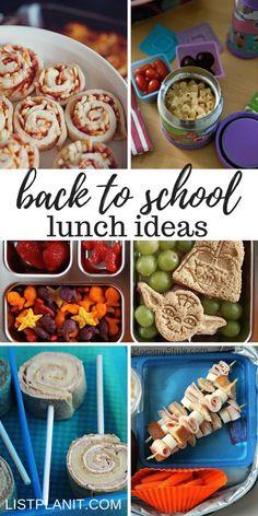 Back to School Lunch Ideas - ListPlanIt School Lunch Recipes, Back To School Lunch Ideas, Back To School Kids, School Lunch Box, School Snacks, School Ideas, Peanut Butter Dip, Healthy Peanut Butter, Teacher Lunches