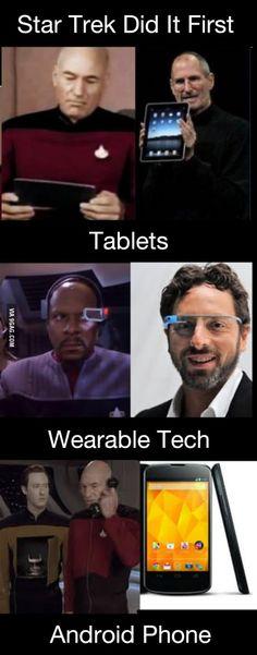 Star Trek correctly predicts the future