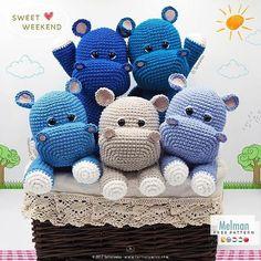 Mesmerizing Crochet an Amigurumi Rabbit Ideas. Lovely Crochet an Amigurumi Rabbit Ideas. Crochet Animal Patterns, Stuffed Animal Patterns, Crochet Patterns Amigurumi, Amigurumi Doll, Crochet Dolls, Crochet Hippo, Crochet For Kids, Free Crochet, Crochet Animals