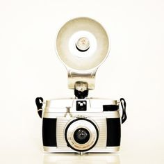 Camera Print vintage style retro whimsical masculine by diemdesign, $24.00
