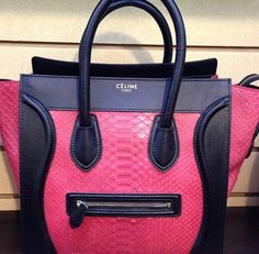 Celine Luggage want so bad, but in a different color.