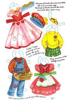 Mother Goose Paper Dolls - papercat - Picasa Web Albums
