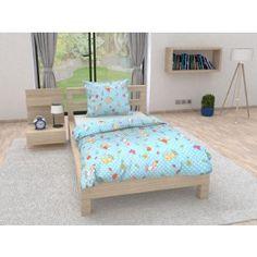 Dětské povlečení do postýlky modré tyrkysové bílé ovce ověčka motýl motýlek kreslené postavičky Toddler Bed, Furniture, Design, Home Decor, Child Bed, Decoration Home, Room Decor, Home Furnishings