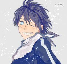 "anime-fanarts: ""Character: Yato Anime: Noragami ノラガミ ARAGOTO by u@ついった (id…"