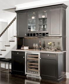 60 Amazing Kitchen Bars Design Ideas Wet Bar CabinetsCabinets In Dining RoomBar
