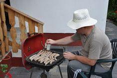 Lacitrom konyha: Bajor grillkolbász házi készítés Cowboy Hats, Sausage, Sausages, Chinese Sausage